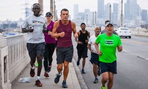 A compelling cast of characters … Skid Row Marathon