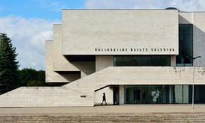 Lithuania, Vilnius, Facade of National Gallery of ArtNational Gallery of Art. Vilnius, Lithuania