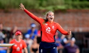 Sophie Ecclestone hated school but had to miss England's world 50-over triumph last year to sit her A-levels.