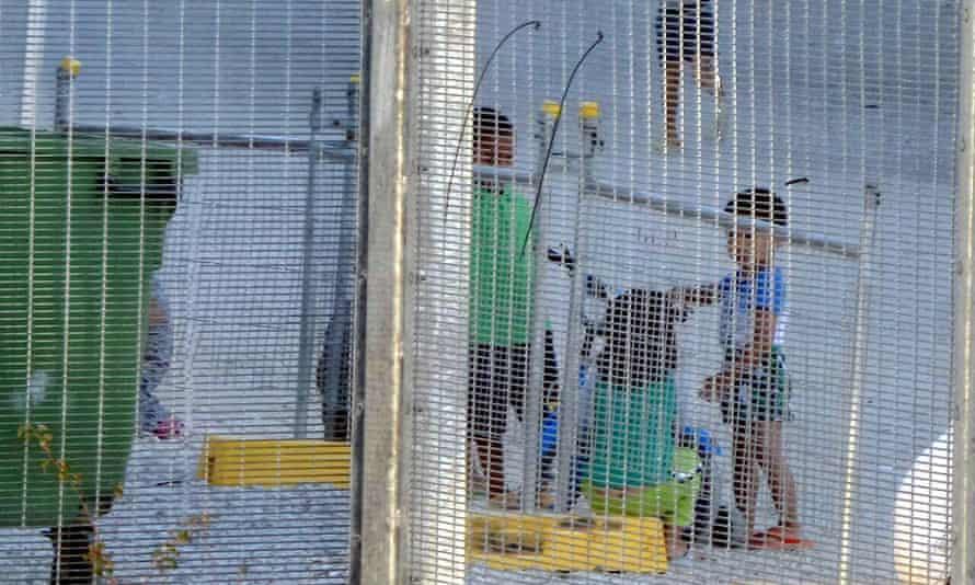 Children in the Nauru detention centre
