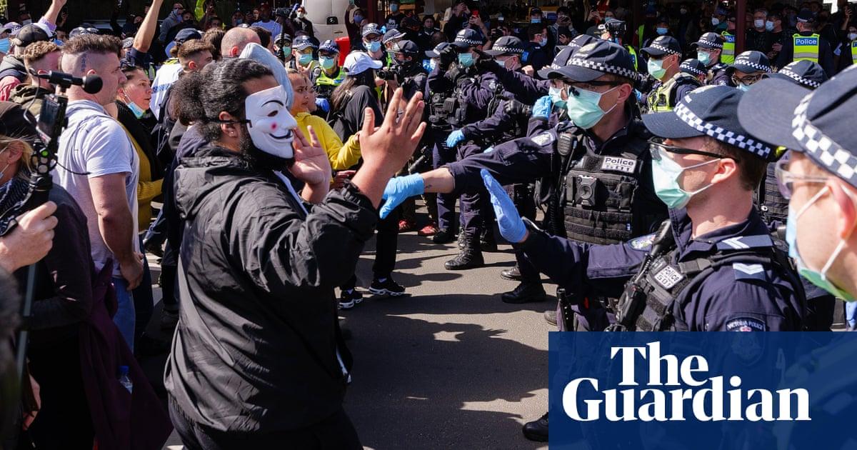 How Victoria's Covid lockdown protests are galvanising Australia's right – The Guardian