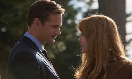 Murder mystery and sexual violence: Alexander Skarsgård and Nicole Kidman in Big Little Lies.