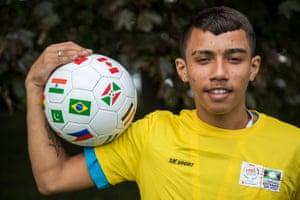 David Santos Silva, 19, from Fortaleza, north-eastern Brazil.