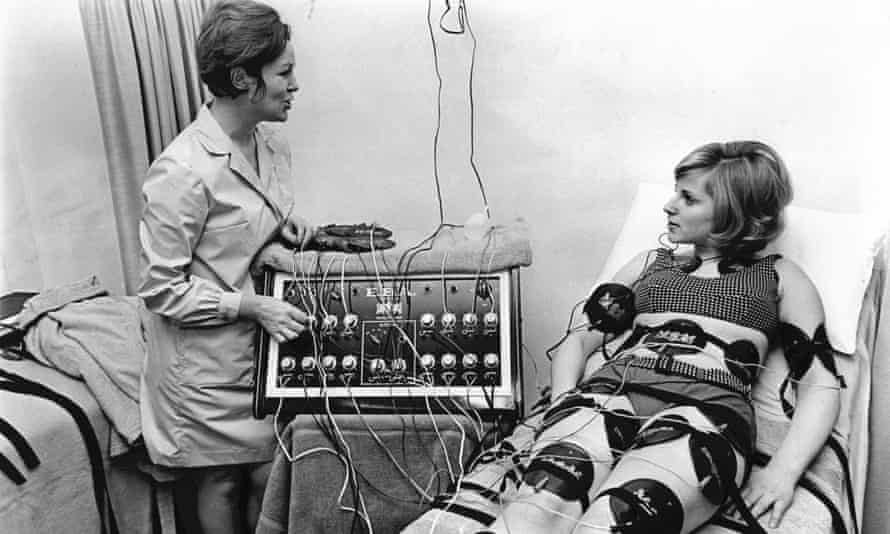 A 1968 slimming programme using electric currents.
