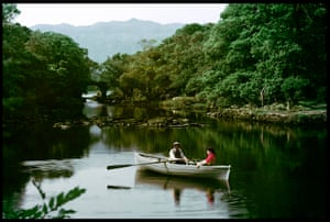 Meeting of the Waters, and Old Weir Bridge, Killarney by John Hinde