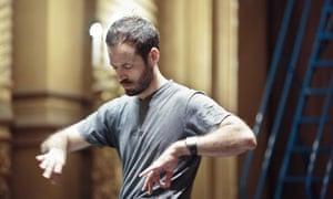 'Formidable charm': Benjamin Millepied in Reset.