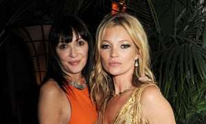 Kate Moss and Annabelle Neilson in London, 2012.