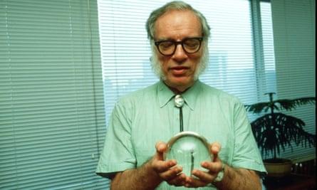 I, Robot author Isaac Asimov in 1985
