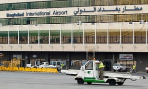 Baghdad international airport.