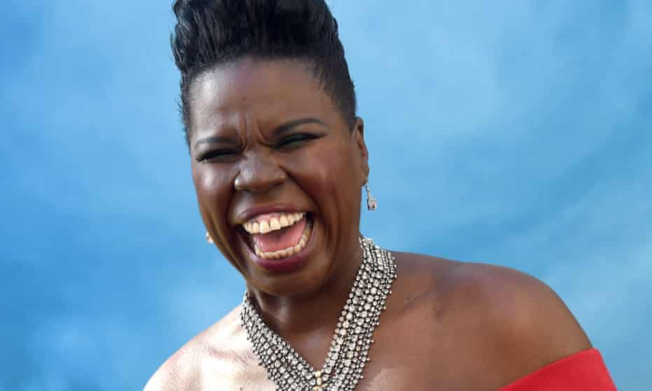 """Premiere Of Sony Pictures' """"Ghostbusters"""" - ArrivalsHOLLYWOOD, CA - JULY 09: Actress/comedian Leslie Jones arrives at the premiere of Sony Pictures' """"Ghostbusters"""" at TCL Chinese Theatre on July 9, 2016 in Hollywood, California. (Photo by Gregg DeGuire/WireImage)"""