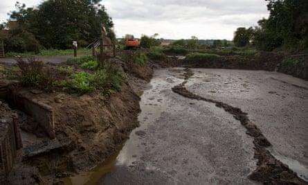 An efficient slurry pit in North Yorkshire.