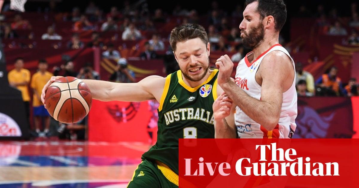 Fiba Basketball World Cup 2019 semi-final: Spain v Australia – live!