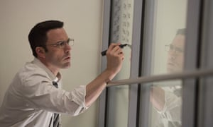 'Impassive good humour': Ben Affleck in The Accountant.