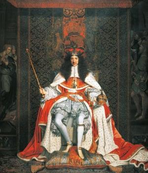 Charles II by John Michael Wright.