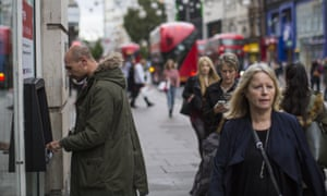 UK consumers are still spending, but there are signs that inflation may hit real wages