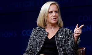 Kirstjen Nielsen, former homeland security secretary, attended Fortune magazine's Most Powerful Woman summit.