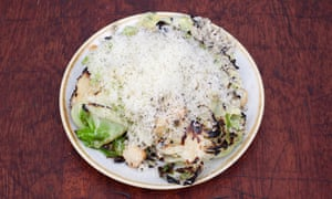 'A beguiling plateful': blackened cabbage, with macadamia nuts and drifts of västerbotten cheese.