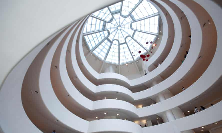 The Guggenheim Museum in New York.