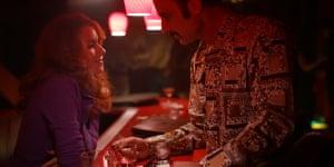 Naomi Watts and Liev Schreiber in The Bleeder.
