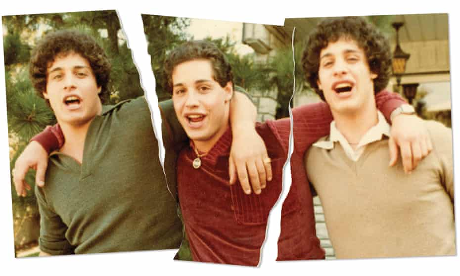 Bobby Shafran, Eddy Galland and David Kellman, who are the subject of the new documentary Three Identical Strangers.