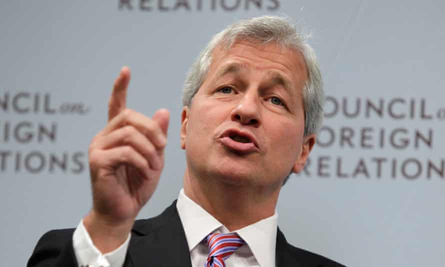"JPMorgan Chase &amp; Co CEO Dimon speaks about state of global economy at forum in Washington<br>JPMorgan Chase &amp; Co CEO Jamie Dimon speaks about the state of the global economy at a forum in Washington, in this file photo taken October 10, 2012. JPMorgan Chase &amp; Co, the biggest U.S. bank by assets, reported a 6.6 percent drop in quarterly profit as legal costs exceeded $1 billion in the wake of government probes, leading Dimon to claim banks were ""under assault."" REUTERS/Yuri Gripas/Files (UNITED STATES - Tags: POLITICS BUSINESS)"