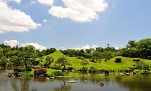 Suizenji Jojuen Garden, Kumamoto Prefecture, Kyushu.