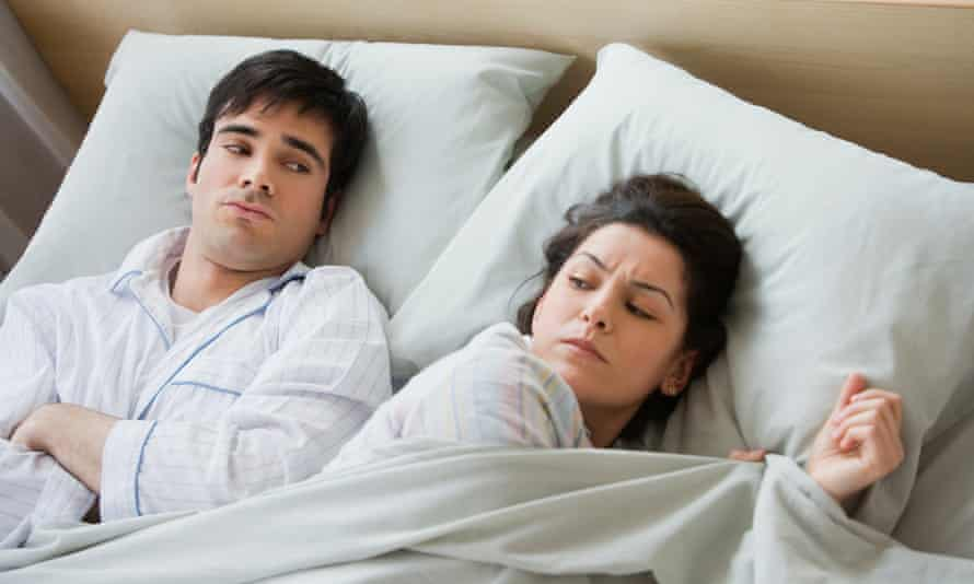 The researchers suggest resolving arguments before you go to bed.