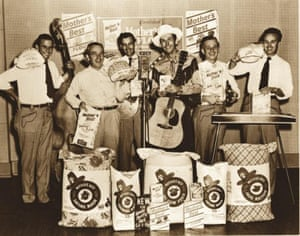 Hank Williams recording the Mother's Best sessions.