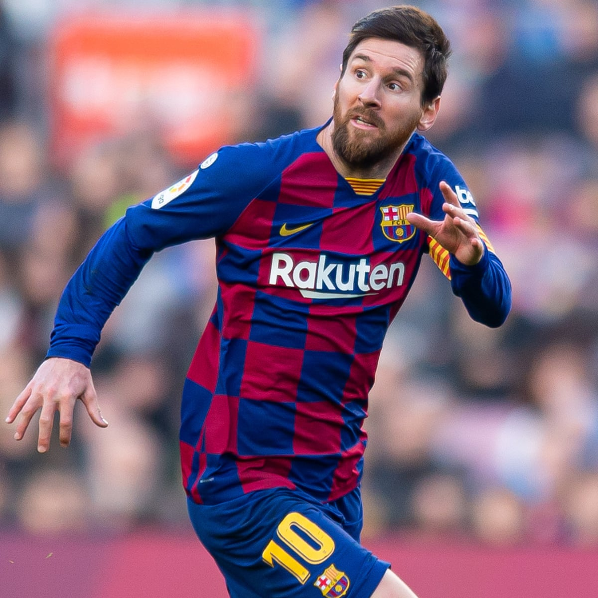 Lionel Messi Admits He Sees Weird Things Happening At Barcelona Barcelona The Guardian