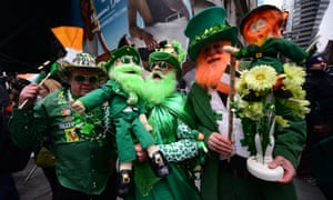 Bill de Blasio was the first mayor in more than 20 years to refuse to participate in the annual St Patrick's Day parade, the largest in the US.