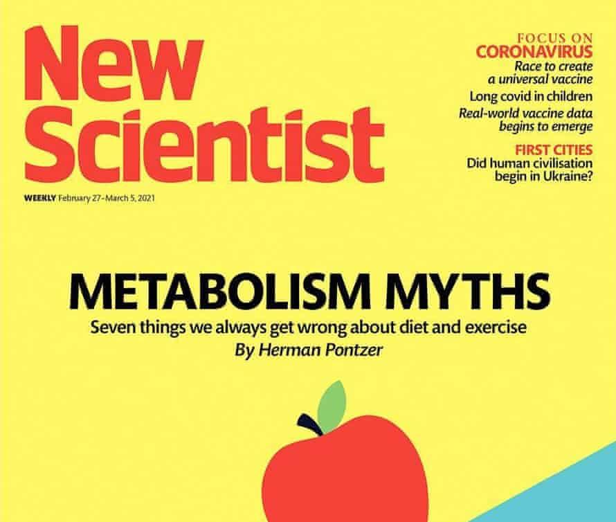 Cover of New Scientist magazine