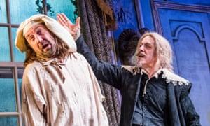 'Cajoling': Lee Mack and Griff Rhys Jones in The Miser.