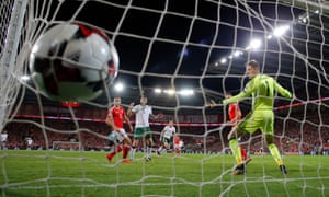 The goal that put Republic of Ireland into the play-offs.