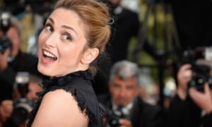 Actress Julie Gayet at the Cannes film festival: she said 'no thanks' to a thankless task.