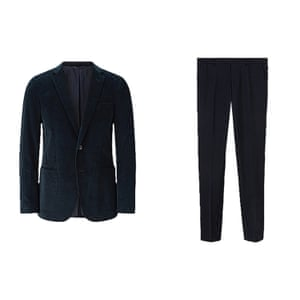 Cord blazer and trousers from Jigsaw