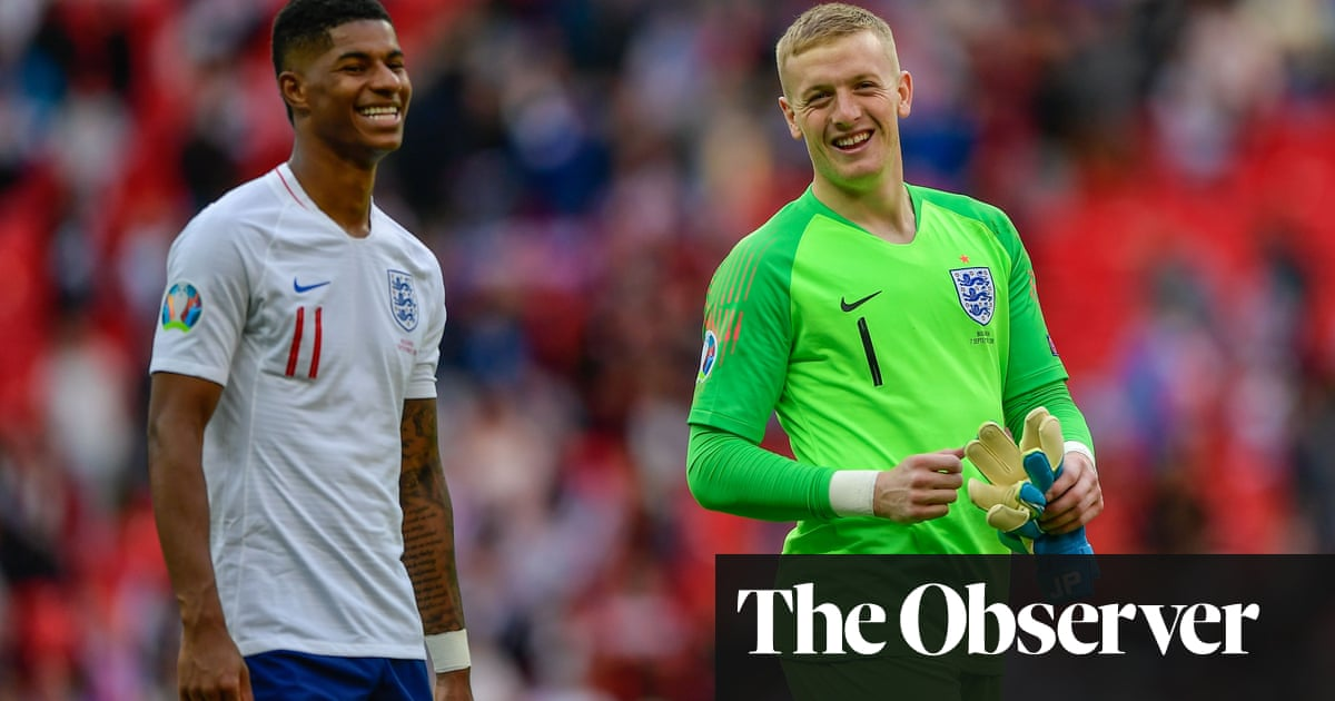 Marcus Rashford's selflessness is a major help to the England cause | Andy Hunter