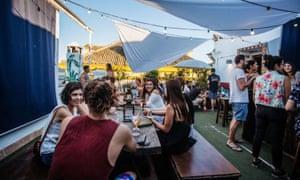 LaBanda Rooftop bar, Seville