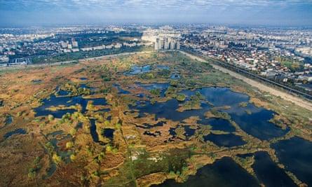 Lake Văcărești was part of former president Nicolae Ceaușescu's plan to connect Bucharest to the river Danube.