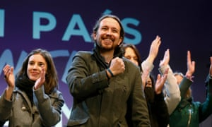 Podemos party leader Pablo Iglesias