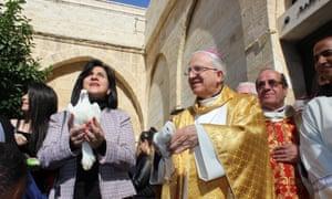 Vera Baboun, mayor of Bethlehem