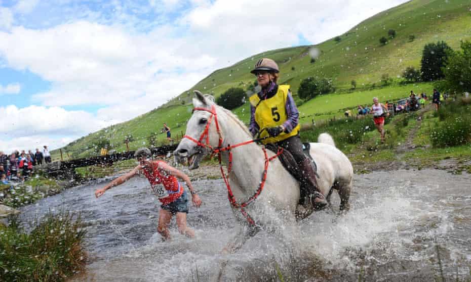 Man V Horse Race, Llanwrtyd Wells, Wales, Britain