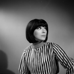 Fenella Fielding in a publicity shot for the television series Love Story