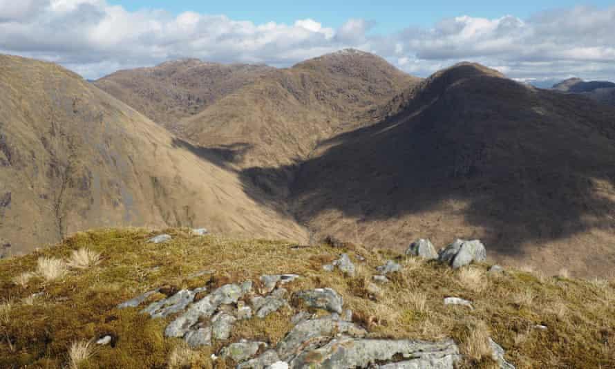 View from Croit Bheinn, Moidart, Scotland.