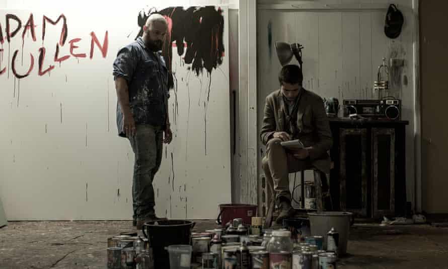 Daniel Henshall as Adam Cullen and Toby Wallace as Erik Jensen.