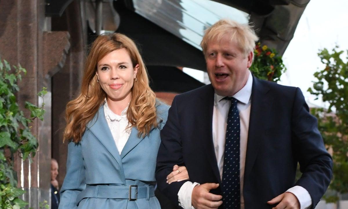 Boris Johnson to marry fiancee Carrie Symonds in July 2022, report says | Boris  Johnson | The Guardian