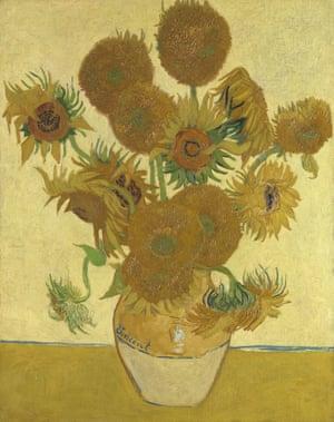 Van Gogh's Sunflowers (1888).