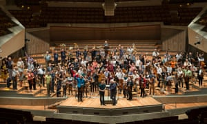 'We are like giddy children who have won Willy Wonka's gold tickets' … the BE PHIL orchestra.