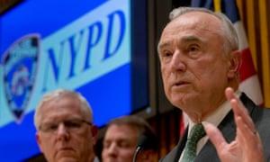 NYPD police chief Bill Bratton