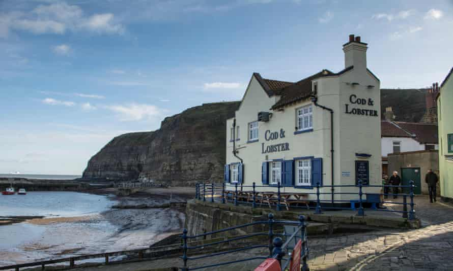 The Cod and Lobster pub.