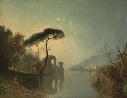 Ravishingly beautiful … Lake, Ruin and Pine Trees by Richard Wilson.